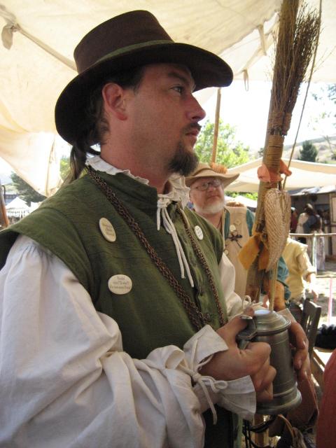 e6a6860c329 Sheriff in an Elizabethan Tall Hat
