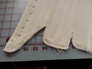 corset rough